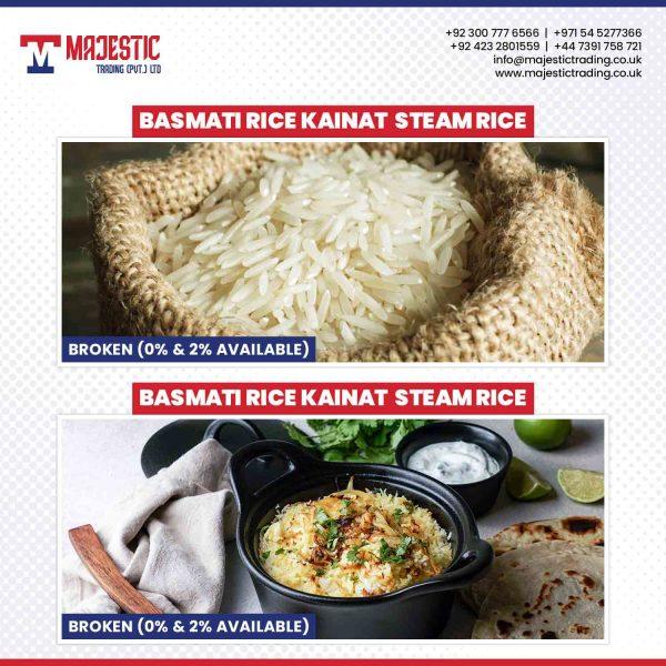 basmati rice kainat steam rice