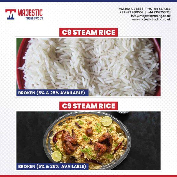 C9-steam rice