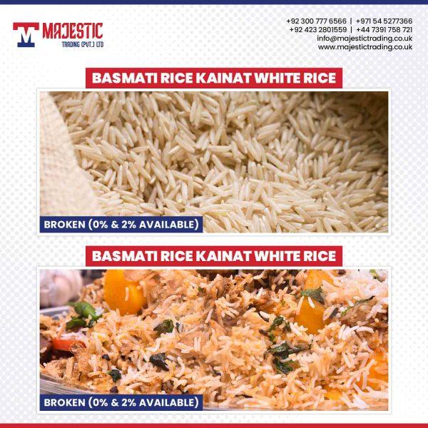 basmati rice kainat white rice