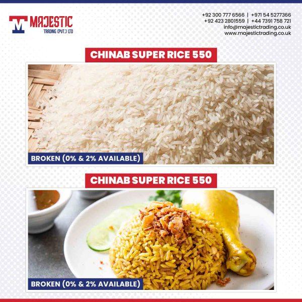 chinab super rice 550